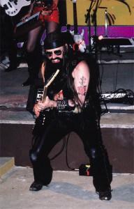 Michel Montecrossa during the Spirit of Woodstock Festival