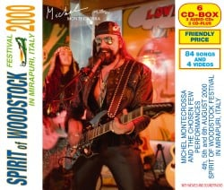 Michel Montecrossa and his band The Chosen Few at the Spirit of Woodstock Festival 2000 in Mirapuri, Italy